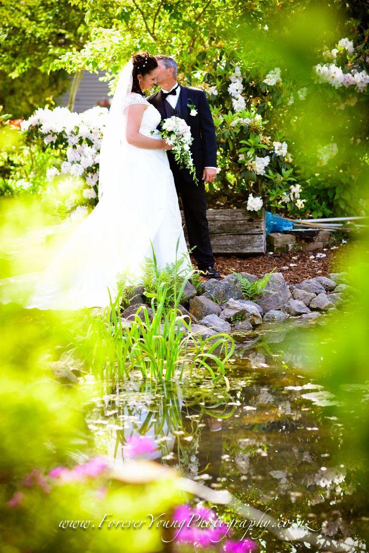 Natalie and Steve wedding at Styx Mill Nursery Christchurch, New Zealand