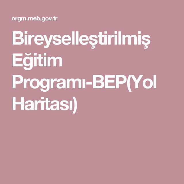 Bireyselleştirilmiş Eğitim Programı-BEP(Yol Haritası)