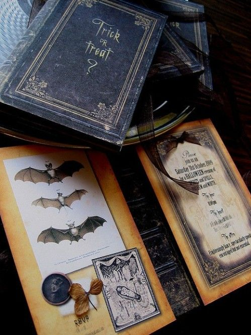 creatively wicked halloween party invitations - Homemade Halloween Party Invitations