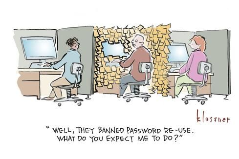 Pretty Good Passwords: Cartoon Caption Contest Winners