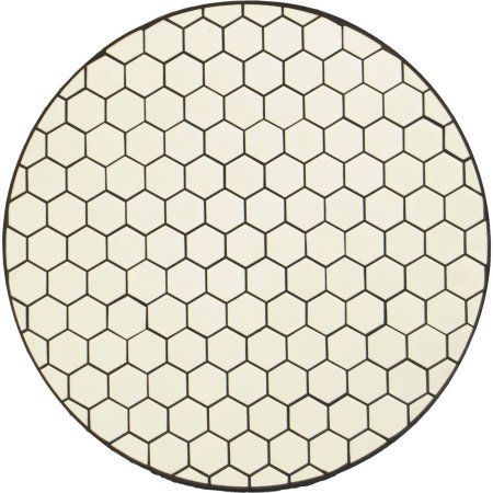 Better Homes and Gardens Camrose Farmhouse Mosaic Tile Top Table