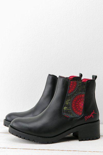 Todos los zapatos para mujer otoño-invierno 2015 | Desigual.com