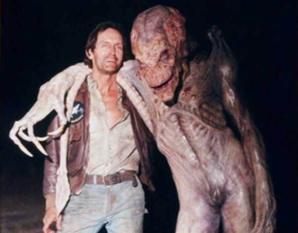 "/// Behind the scenes of ""Pumpkinhead""."