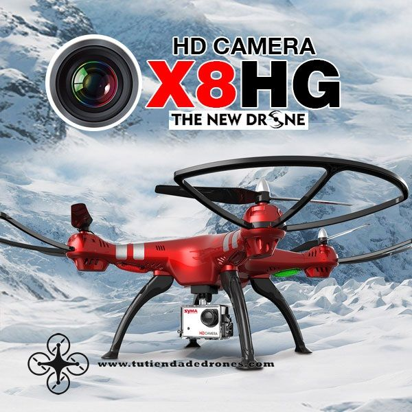 Syma X8HG With 8MP HD Camera Altitude Hold Mode 2.4G 4CH 6Axis RC Quadcopter RTF -- 143,31€