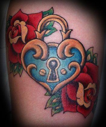 Locket and heart - Sharron Northern