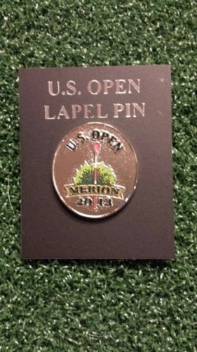 2013 US OPEN Golf Hat or Lapel Pin - Played at Merion Golf Club
