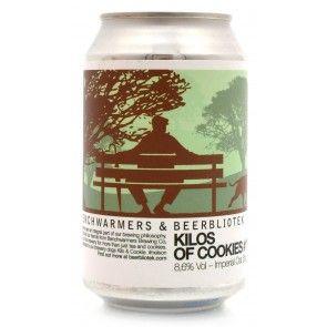 Beerbliotek - Kilos Of Cookies #177 Imperial Oat Stout Blik 8.6%