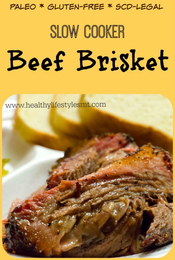 Slow Cooker Beef Brisket from healthylifestylesmt.com | Dr ...