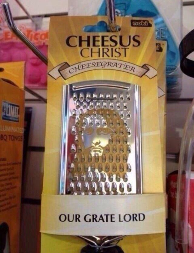 Cheesus Christ