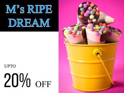 M's Ripe Dream #Gift Shop @Saudawala