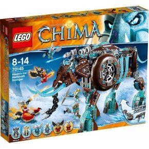 Lego 70145 Legends Of Chima : Le Mammouth Des Glaces à 75,00 € chez 3Suisses  #lego #chima #jouet
