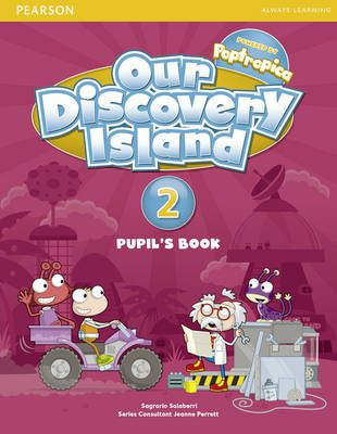 Our Discovery Island Level 2 Student's Book plus pin code  Description: Van dit artikel (9781408238639 / Our Discovery Island Level 2 Student's Book plus pin code) is nog geen omschrijving beschikbaar.  Price: 18.95  Meer informatie