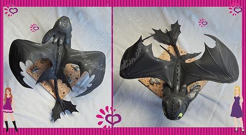 Dragão Bangueka em EVA 3D