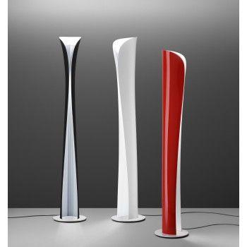 Cadmo Terra - Artemide. Nowoczesne lampy podłogowe. #goodform #lampy #design #lampyartemide #artemide