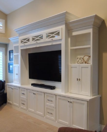 Entertainment Centers and Media Consoles are the most popular items we build.  Quality balanced with affordability is the main goal at Sean's Woodworking.  We will be happy to customize any entertainment center layout we have,  to suit your room or needs. For even more affordable TV needs, check out our media consoles.  All our furniture items are build from an interlocking joinery system to create a durable, quality unit that will last for years.  Our Entertainment Centers and Media…