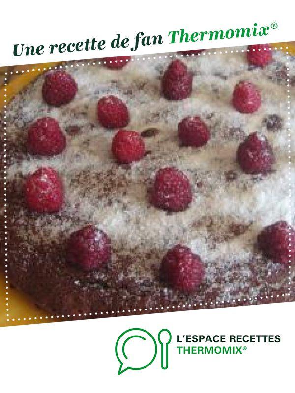 moelleux chocolat framboise   Recette   Chocolat framboise ...