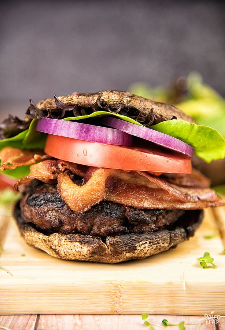 All-American Burger - A classic burger with all the fixings to anchor your summer grilling menu. (Paleo, Gluten Free)