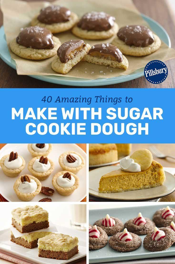 35 Fun Ways To Use Sugar Cookie Dough Sugar Cookie Dough Sugar Cookie Dough Mix Pillsbury Sugar Cookie Recipe