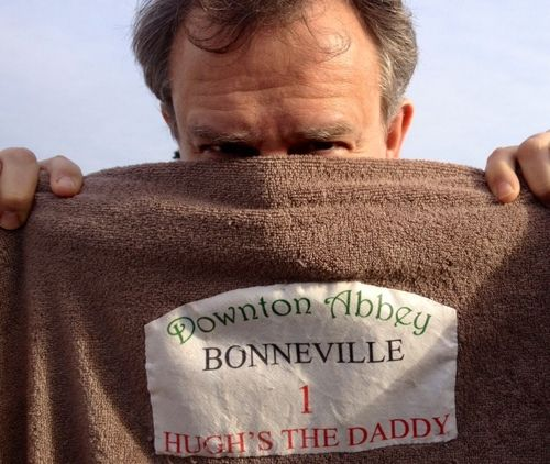 This is Hugh's twitter avatar but I'd never looked at it close enough to realize what it says. Love it!