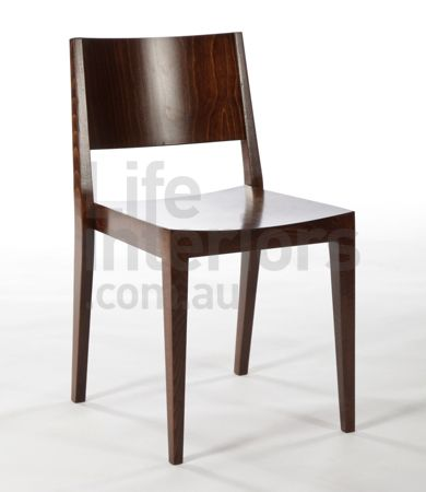 Short Back Cafe Chair from life interiors $165