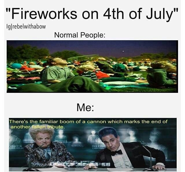 I did this on the Fourth of July this year when I watched the fireworks and annoyed the heck out of my family. XD