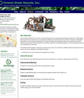 At Forever Green as your entity integrates an environmental management system to reduce your environ...