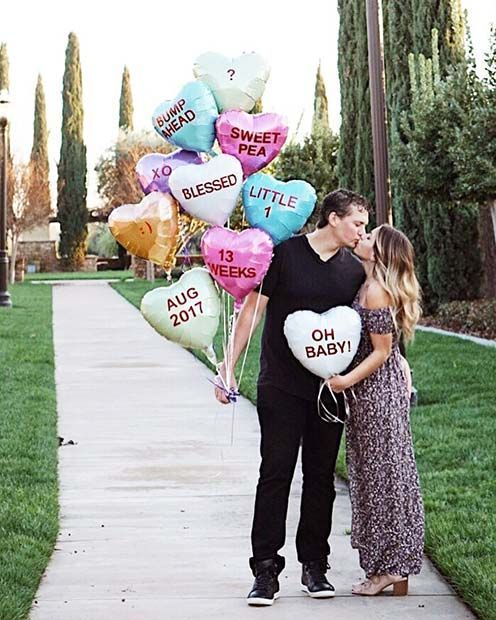 21 Valentine S Day Pregnancy Announcement Ideas Baby Dreams
