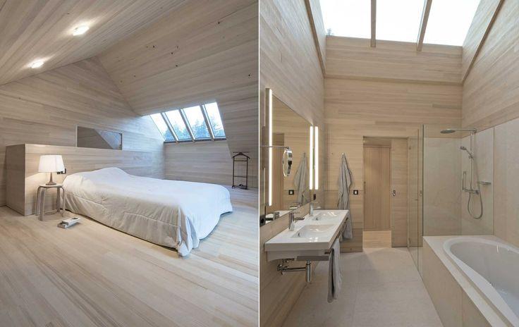 Wochenendhaus d holzhaus modern was wir bauen for Holzhaus modern bauen