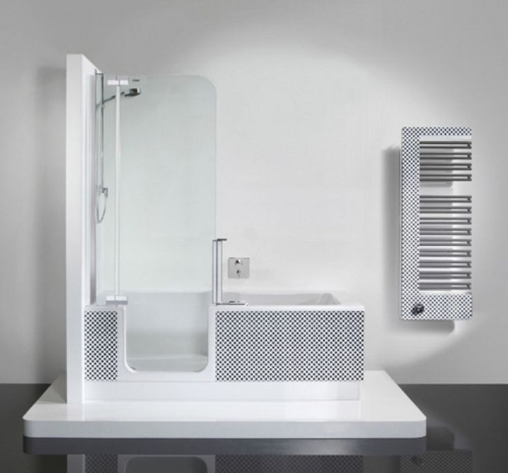 Small Square Tub Part - 21: Small Bathtubs For Kids Bathrooms : Small Bathtubs With Shower - Modern Small  Square Bathtub