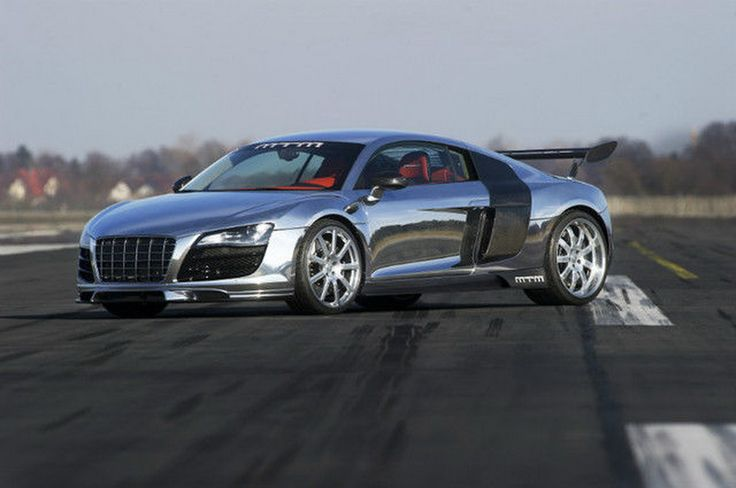 This Shiny 790 HP MTM Audi R8 Will Cost You $500,000! In spite of the fact that the old R8 had a great design just as it was, the German tuner, MTM, thought that there was place for some improvements and starting working on it making its own version, MTM Audi R8. What you see is a chromed MTM Audi R8, based on the V10 model. Several modifications...