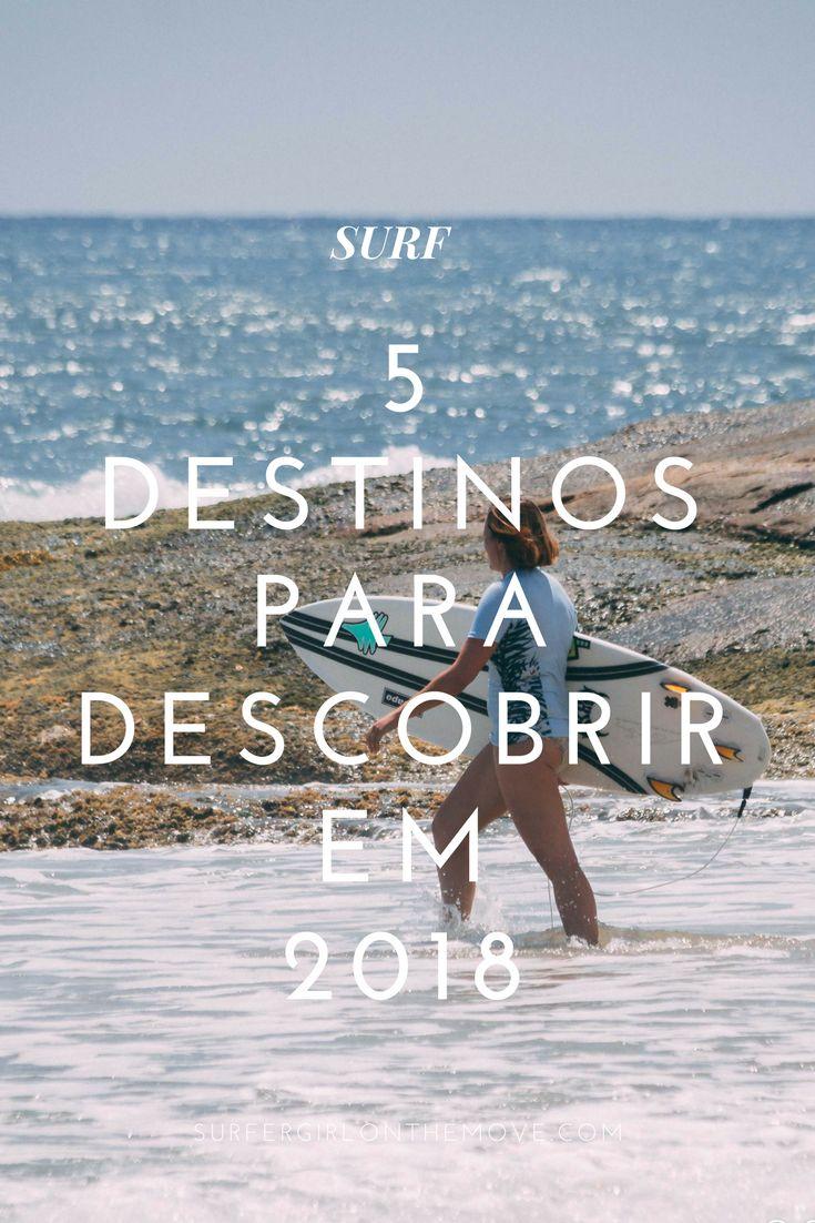 Este ano, encontre novos destinos para surfar. EUA, América Central, África ou Ásia, estas cinco viagens de surf farão com que nunca queira sair da água.