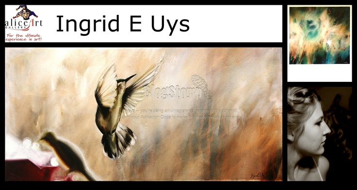 Ingrid E Uys: Perfect thoughts with amazing outcome!