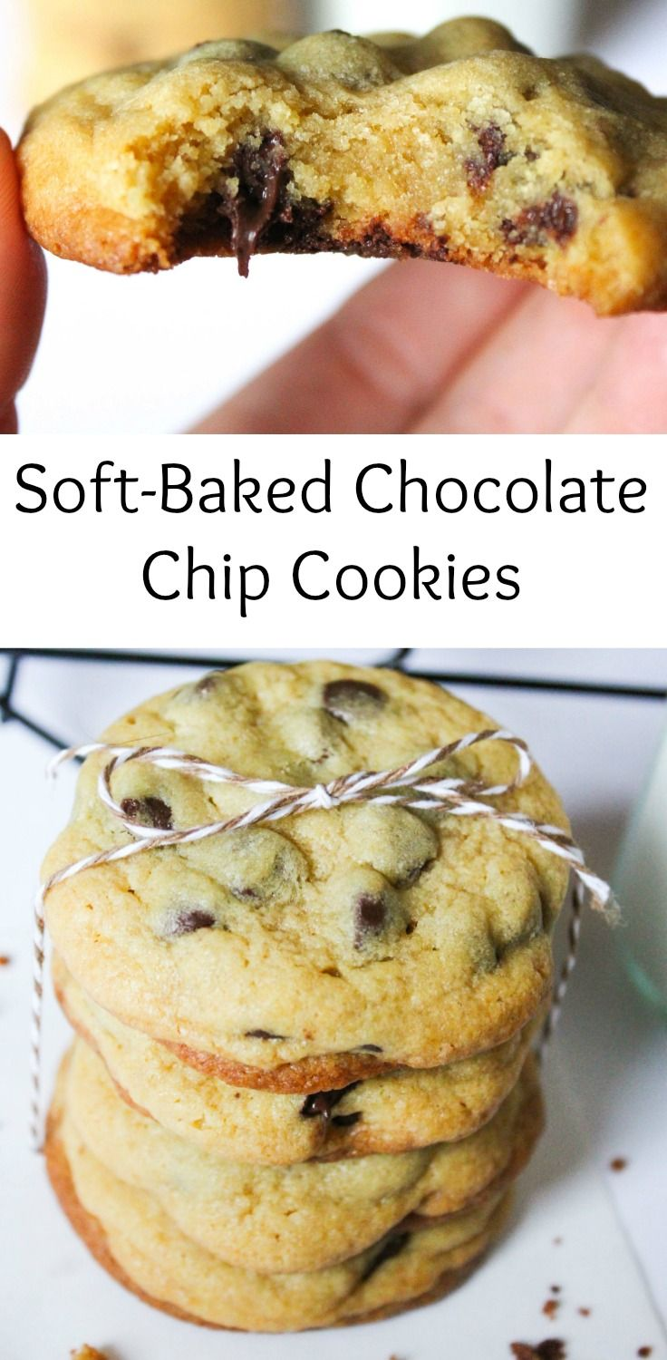 The best ever chocolate chip cookies! They're soft and chewy pudding cookies that ooze with delicious chocolate right out of the oven. Double the recipe and freeze half of the dough so you have fresh baked homemade cookies within minutes! They're so easy to make and are the perfect cookie recipe for any occasion and stay soft for so long!
