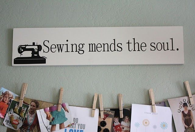 Need for my sewing room.
