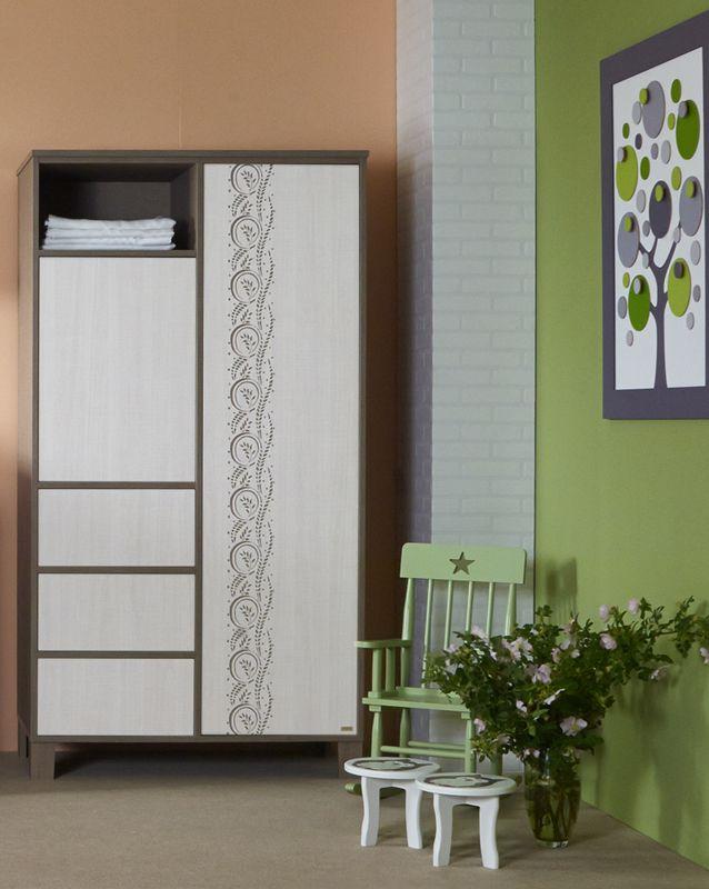 Holly wardrobe with flower pattern / Virág mintás Holly szekrény