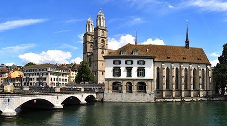 Cheap hotels in Geneva and Zurich