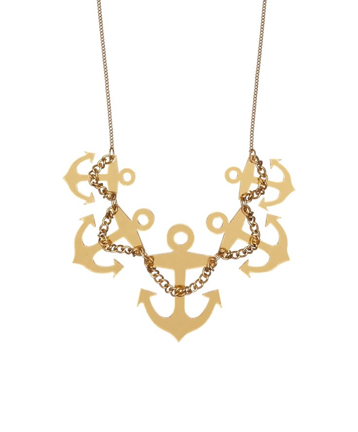 Anchor Swag Large Necklace, £65: http://www.tattydevine.com/anchor-swag-large-necklace