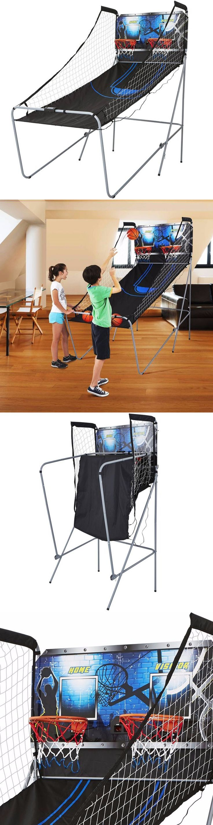 Other Indoor Games 36278: 2-Player Arcade Basketball Game Led Scoring Sound 8 Game Options Metal Frame BUY IT NOW ONLY: $90.59