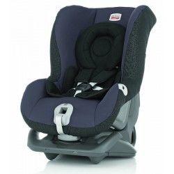 SILLA AUTO ROMER FIRST CLASS: sillita de seguridad homologada para el Grupo 0+I (desde recién nacido hasta los 18 Kg). Se instala de espaldas a la carretera hasta los 13 Kg.
