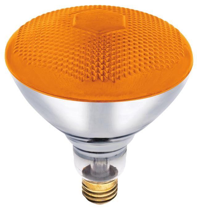 Best 100 Watt Br38 Incandescent Flood Light Bulb Amber E26 400 x 300