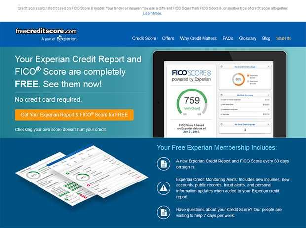 Best Free Credit Score Websites Free Credit Score Credit Score