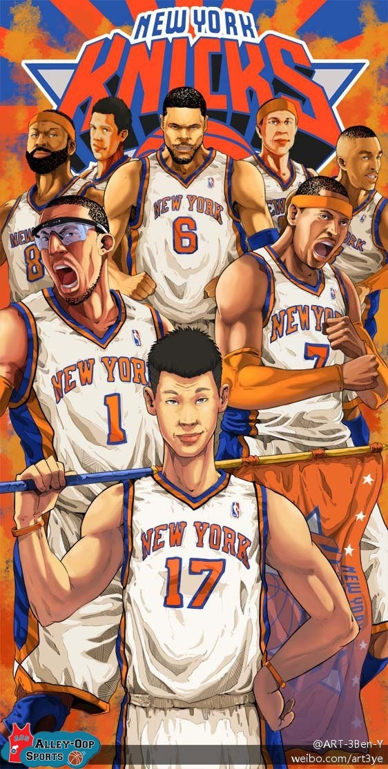 J.Lin and the Knicks