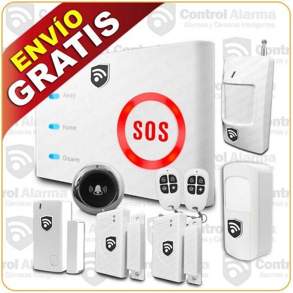 Alarma Gsm Wifi 4G 5 Sensores con Boton de Panico Mod. CYX6-5  Detalles del producto Características: - Triple Seguridad GSM/WIFI/GPRS - Conexión a internet GPRS o Wifi - Alarma discreta o sonora - Control total a distancia - Diferentes metodos de armado - Bateria de respaldo - Movilidad y discreción - Monitoreo y control en tiempo real - Mil usos y mil soluciones - Soporta hasta 100 sensores inalámbricas  Contenido que incluye el paquete: Panel Inteligente GSM/WIFI 1 Botón de Pánico/Timbre…