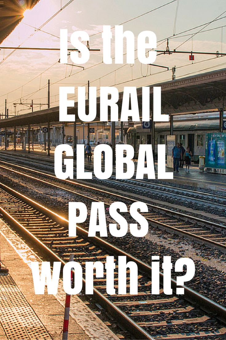 t first glance a Eurail pass seems like a daunting contraption. Finding what you need to get, and deciding where you want to go on your European train journey, may feel like a complicated process. But once you figure it out the rest is easy. What you need to know about using the Global Pass - the pros & the cons. EUROPE TRAIN TRAVEL EURAIL.