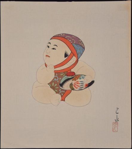 1935 - Hasui, Kawase - Gosho - Ningyo #22