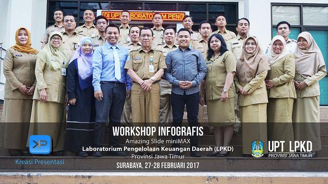 Workshop Infografis LPKD Provinsi Jawa Timur, 21-22 Februari 2017.