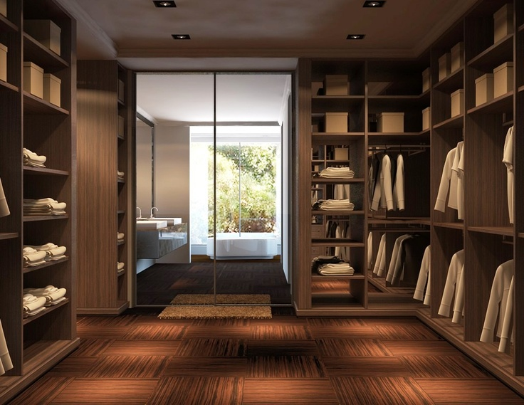 301 best images about modern closet on pinterest for Modern walk in closets