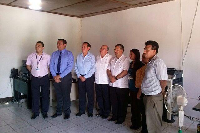 Autoridades del Organismo Judicial visitan Juzgados y Tribunales de Petén
