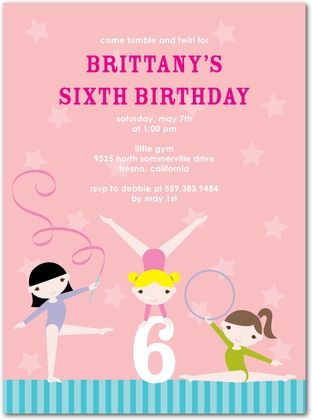 15 best gymnastics birthday party invitations images on pinterest the most popular gymnastic party invitation here partyinvitations partyinvite gymnasticsparty partyhq stopboris Image collections