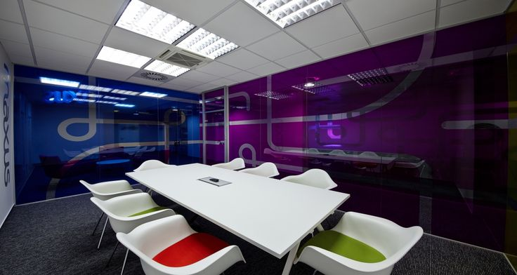 Meeting room into the offices of Maxus in Prague, Czech Republic